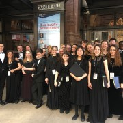 Rugby School choir in New York spring 2017