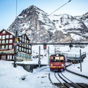 Kleine Scheidegg, Jungfraujoch train