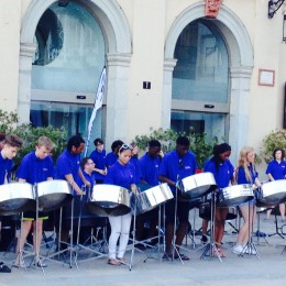 Pimlico steelband tour Spain 2015 1