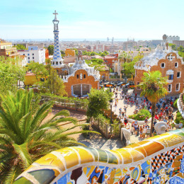 The Famous Summer Park Guell