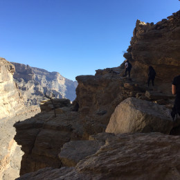 Balcony Walk - Jebel Shams - by twenty3 extreme 5