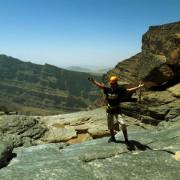 Jebel Shams Via Ferrata top