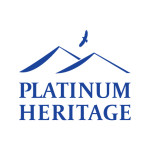 Platinum Heritage Logo Blue