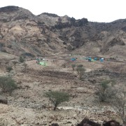 view of the camp site